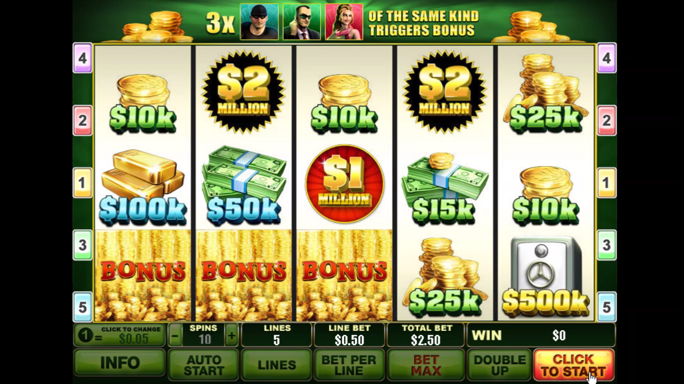 Spin 2 Millions Slot - Play for Free Instantly Online