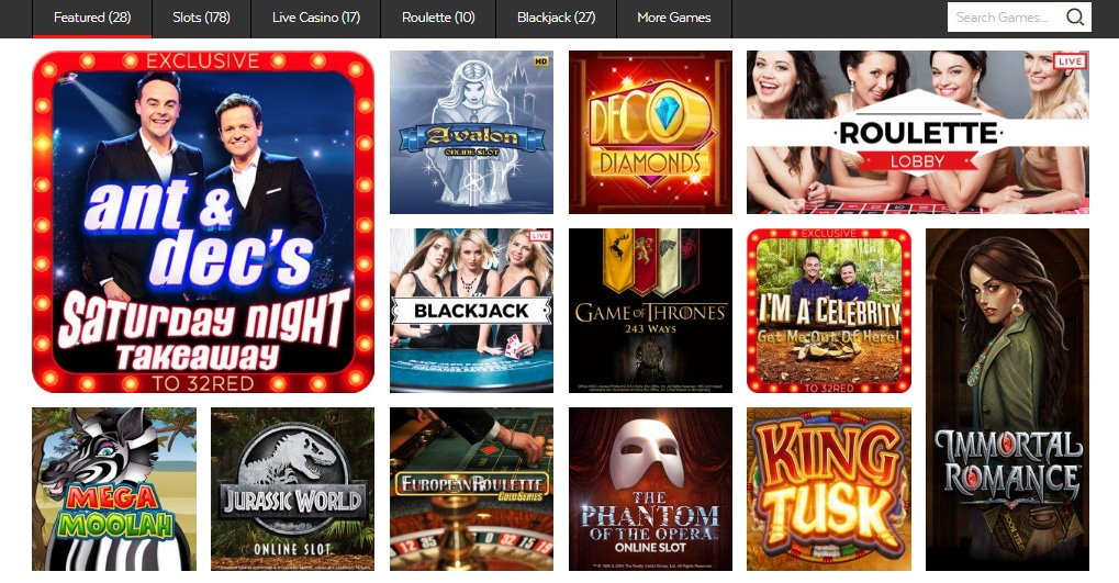 32red online casino home page