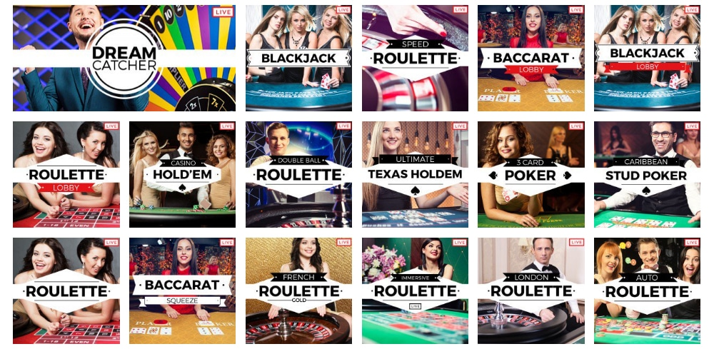 32red online casino live games