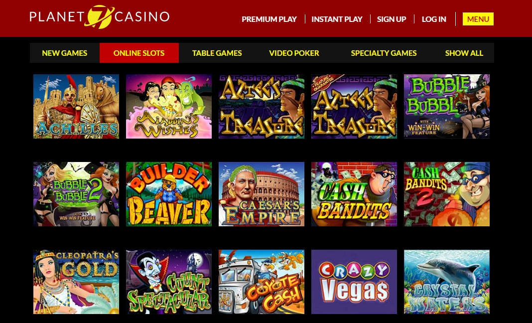 planet 7 online casino instant play
