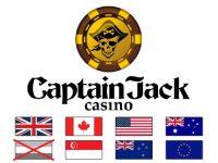 Captain Jack Online Casino Logo