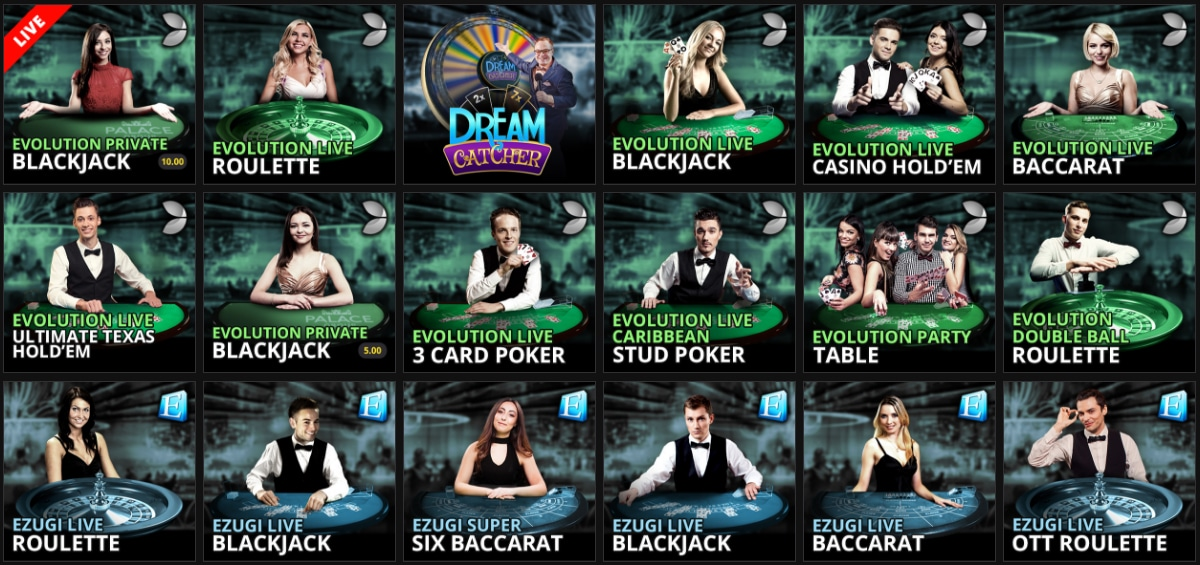 Jackpot City Online Casino Live Games