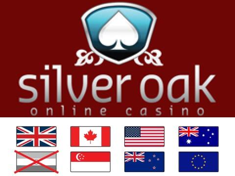 Silver Oak Online Casino 1 Review 400 Bonus Usa Accepted