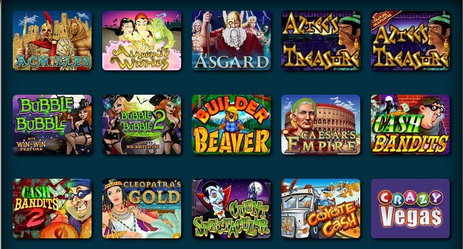 Sliver Oak Online Casino Slots