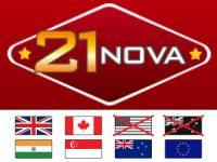 21 Nova Online Casino Logo