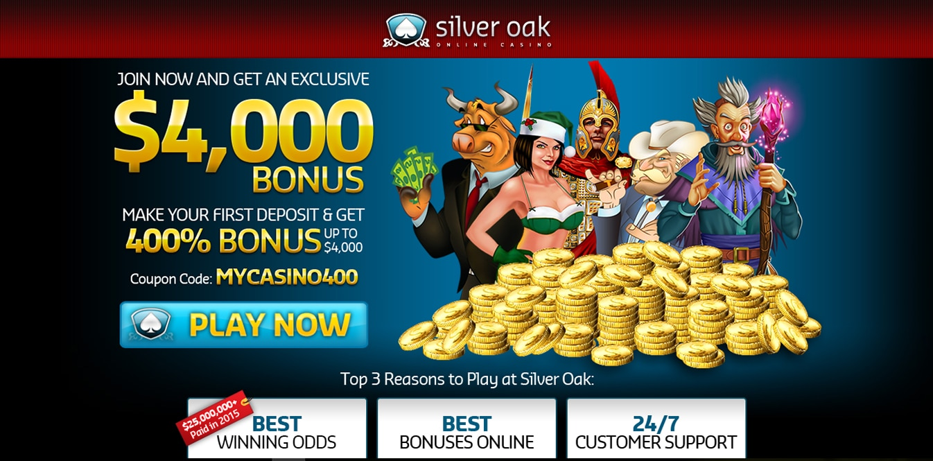 Silver Oak Casino Withdrawal