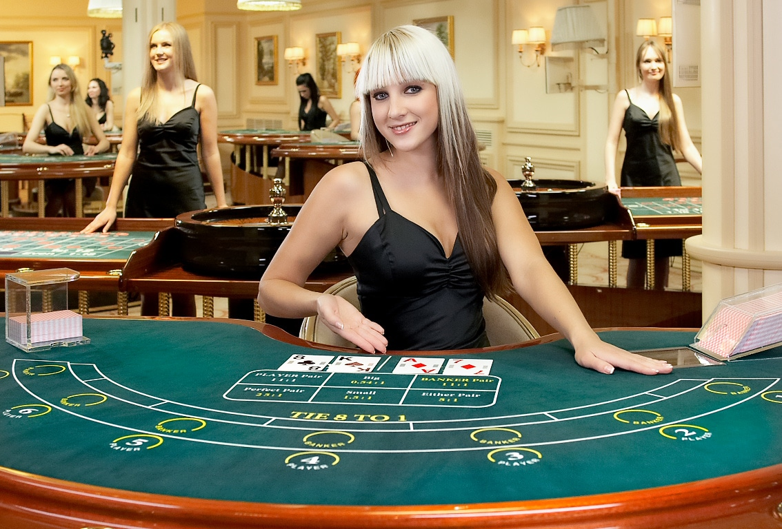 How to play baccarat in live casino