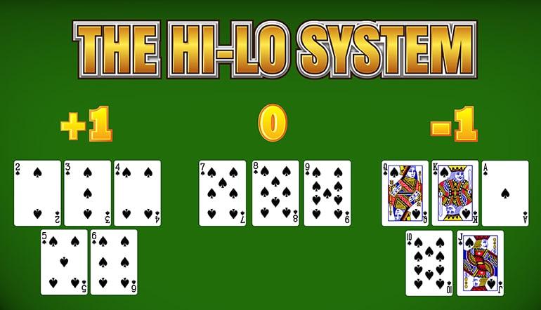 Blackjack high low system