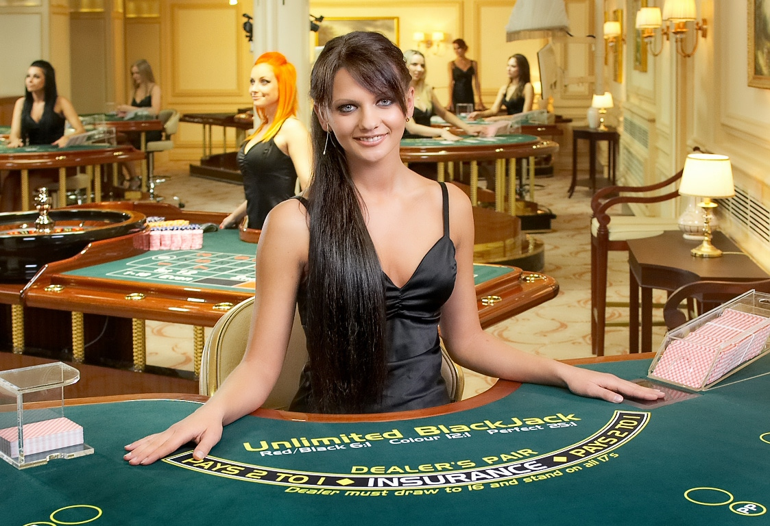 Live-Dealer-Casinos Blackjack-Tisch