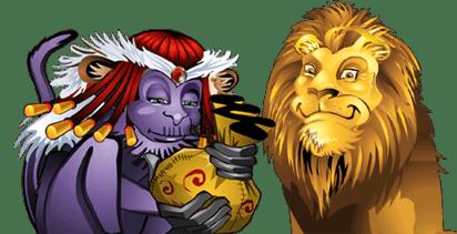 Mega Moolah Lion Scatter