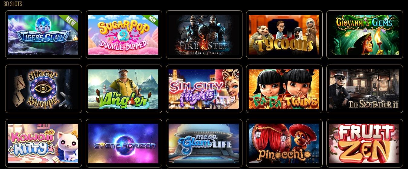 MYB Casino 3D Slots