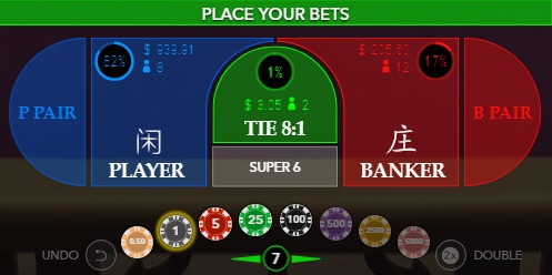 Online Baccarat Bets