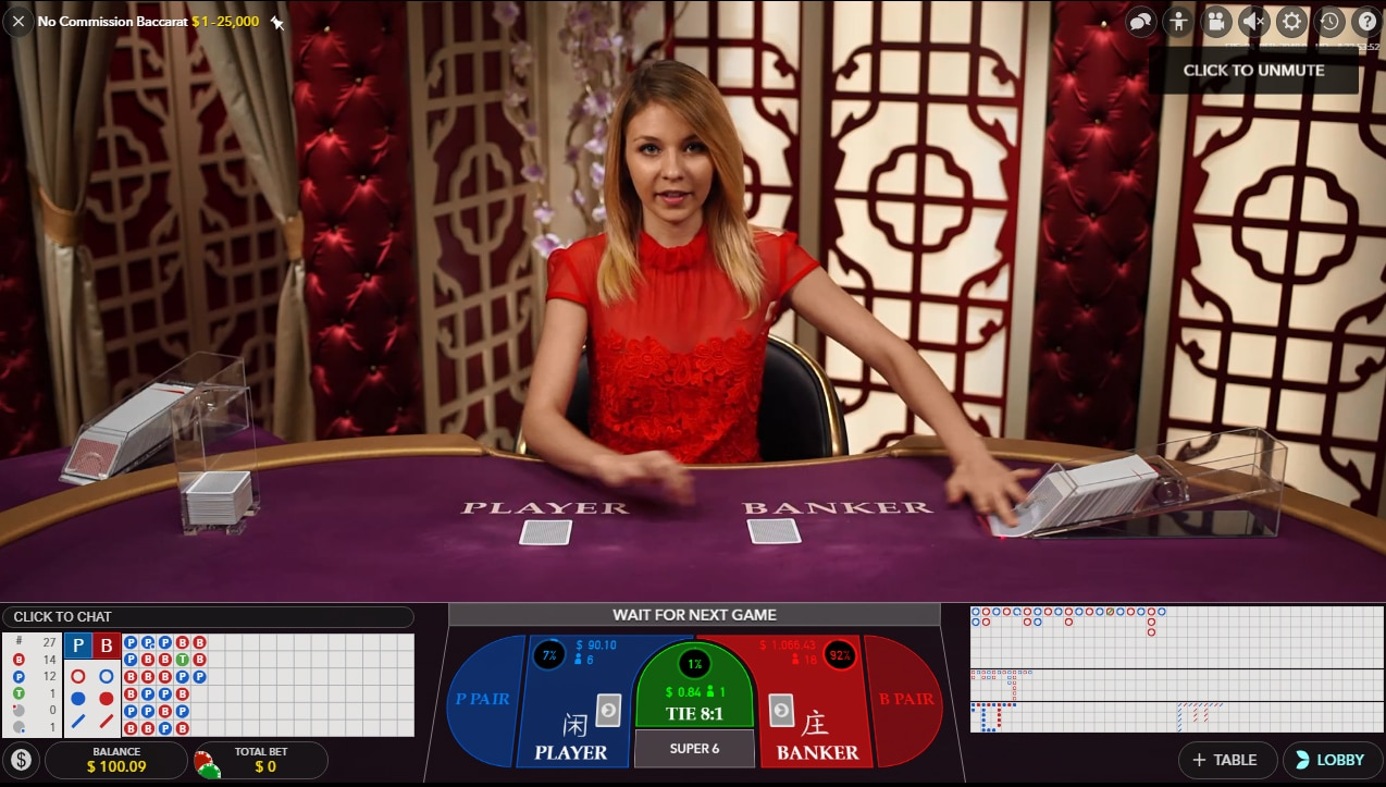 Play Baccarat Online Dealer