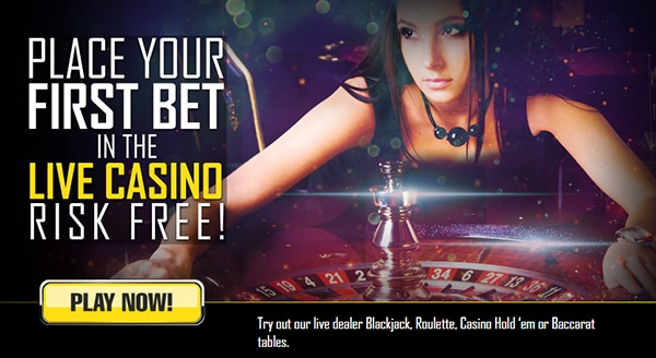 Sports Betting Live Casino Free Bet
