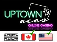 Uptown Aces Online Casino Logo
