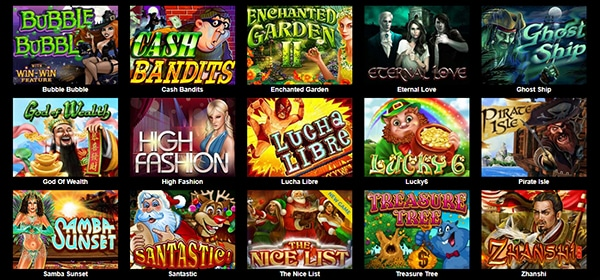 Uptown Aces Online Casino Games