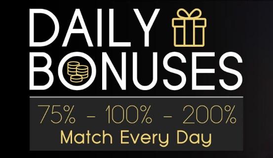 Vegas Crest Casino Daily Bonuses