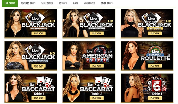 XBet Casino Live Dealers