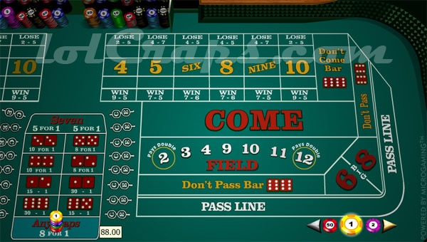 casino games with best odds craps
