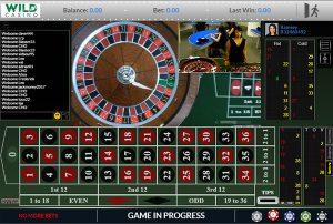 Wild Casino Live Dealer Roulette