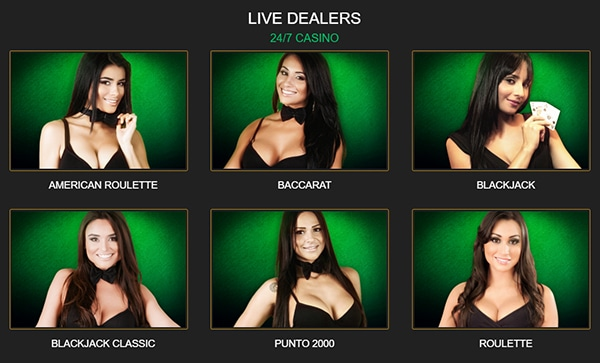 Wild Casino Live Dealers