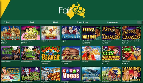 fair go casino slots pokies