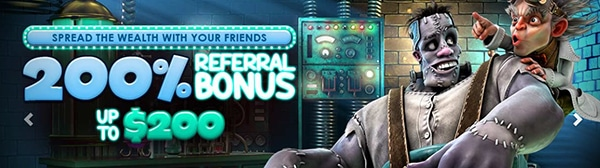 Big Spin Casino Referral Bonus