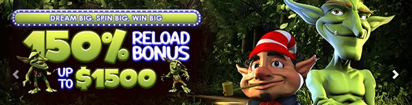 Big Spin Casino Reload Bonus
