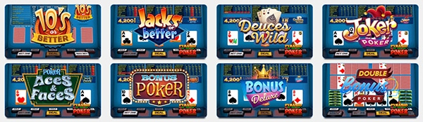 Big Spin Casino Video Poker