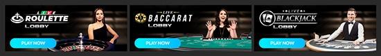 bonza spins live casino