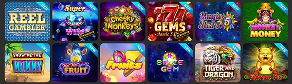 Bonza Spins Casino Slots