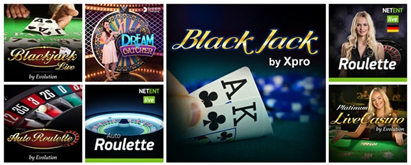 slots magic casino live dealer