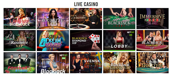 Vegas Hero Online Casino Live Dealers