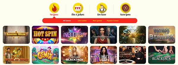 kassu casino review games