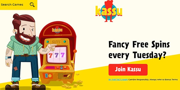 kassu casino review tuesday free spins