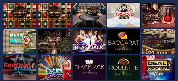 Casoo Live Dealer Games