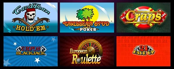 El Royal Casino Table Games