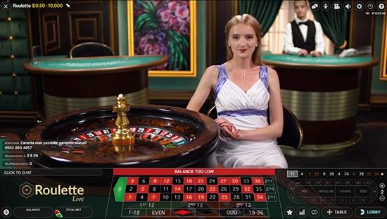 Finnish Live Casino Roulette