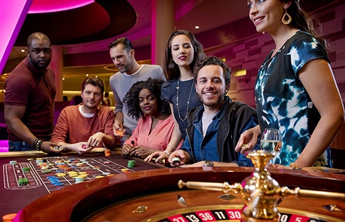 Real Casino Roulette Table