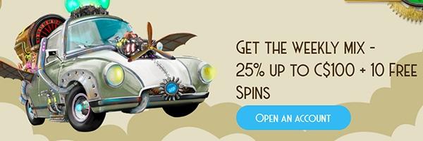 Casino Lab Bonus Offer