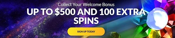 Playluck Casino Welcome Bonus