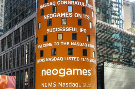 Neogames stock sours