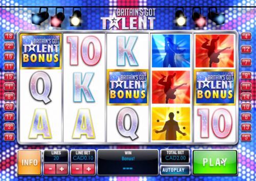 britains got talent online slot bonus game
