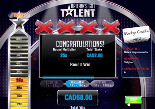 britains got talent online slot bonus game3