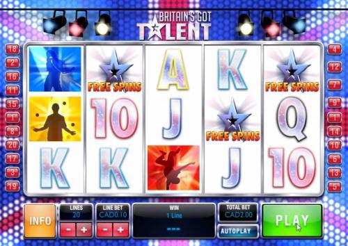 britains got talent slot free spins