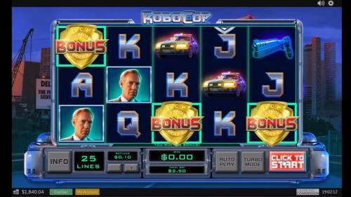 robocop slot main bonus
