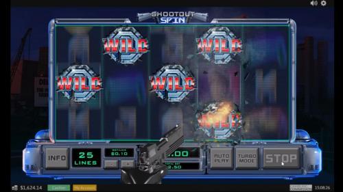 robocop slot shootout spin bonus