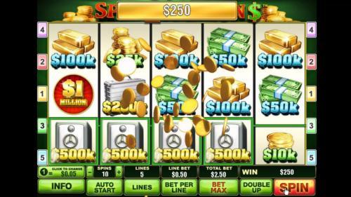 spin 2 million big win