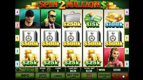 spin 2 million huge win