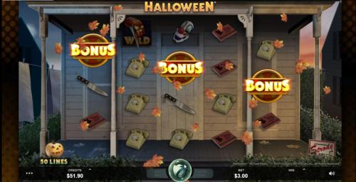 Halloween slot bonus